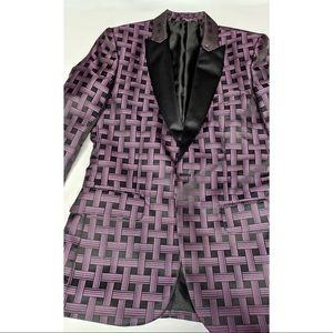 Other - Pink Window-Pane NWT Dinner Jacket